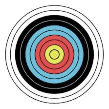Standard target face